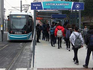 سوف يكون النقل kocaelide مجانيًا في أيام العطل الدينية والوطنية