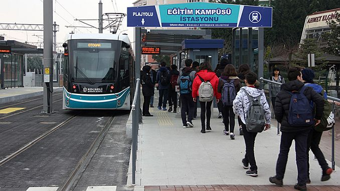 kocaelide transportation will be free on religious and national holidays