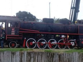 Mujde steam locomotive balikesire fryser tillbaka