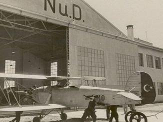 nuri demirag y los primeros turcos nacionales volaron en Estambul