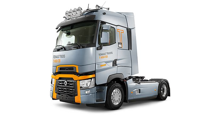 renault trucks model t series with mersinde