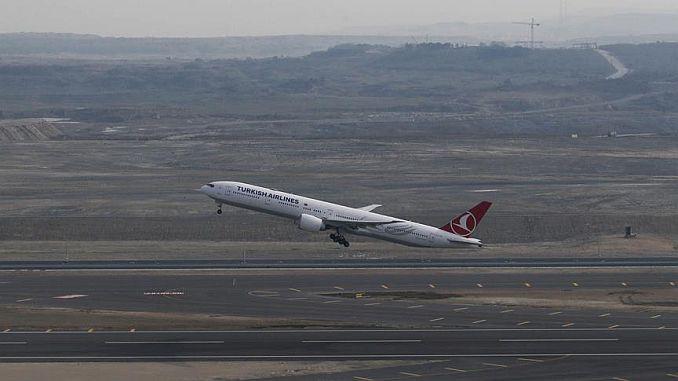 landning i Istanbul flygplats är störningar på grund av vind