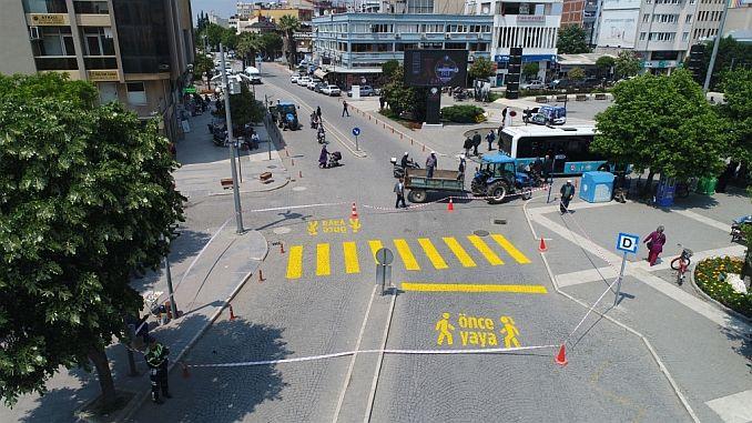 салихлид безопасность пешеходов на переднем плане
