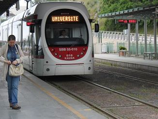 Samsunda wird die Straßenbahn benutzen