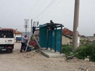 освежающие автобусные остановки у селенида
