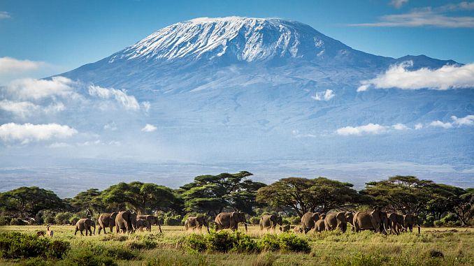 Танзания килиманджаро дажинасы телекоммуникациялық машинаны жасайды