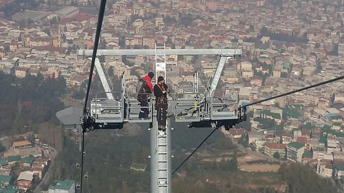 uludag ropeway will be ready for the feast