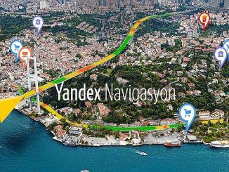 Routeringsroutes en praktische route-informatie voor gebruikers van yandex-navigatie