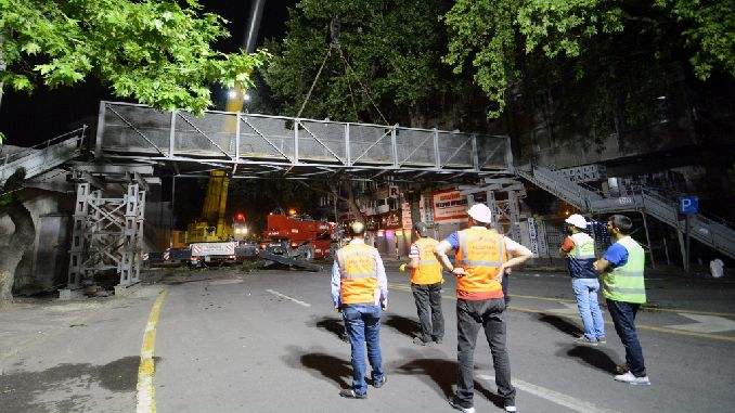Old Overpasses Are Being Removed in Ankara