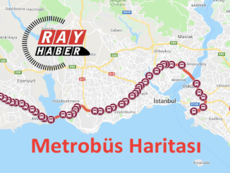 Istanbul metrobus map