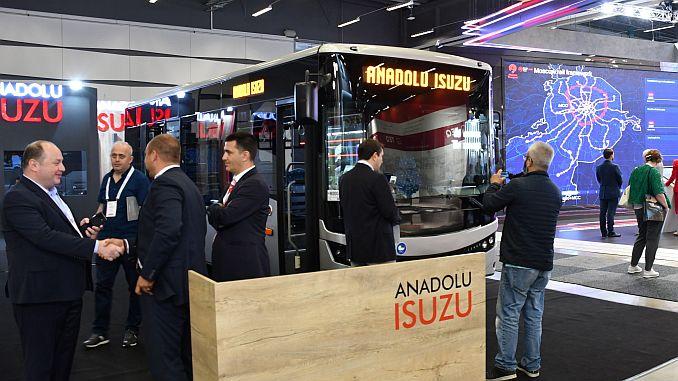 anadolu isuzu attended uitp stockholm fair organized in isvecte