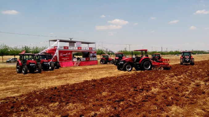 case ih traktor introduction days started in south east anatolia