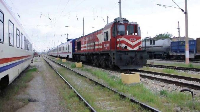 Механическая кража железнодорожных вагонов в Эскишехире