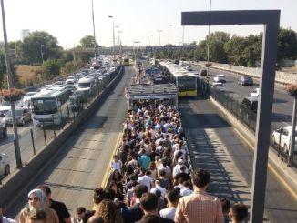 FSM låst metrobus er blevet et mareridt