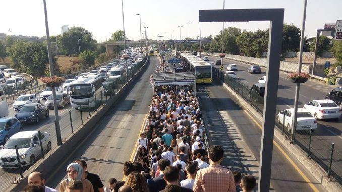 fsm locked metrobus has turned into a nightmare