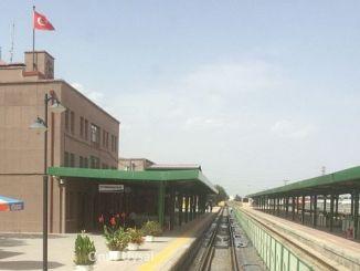 прогулка между железнодорожной станцией и железнодорожной станцией