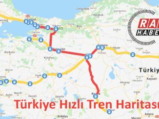 Fast Train Map