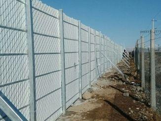 Irmak Zonguldak Eisenbahnlinie als Ergebnis der Ausschreibung, einen Schneeschild zu machen