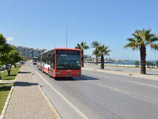 Izmirliler atención eshot realizó un cambio en los servicios de transporte público.