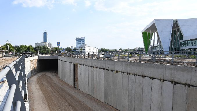 konya new yht station lower gate construction percentage of the construction is completed