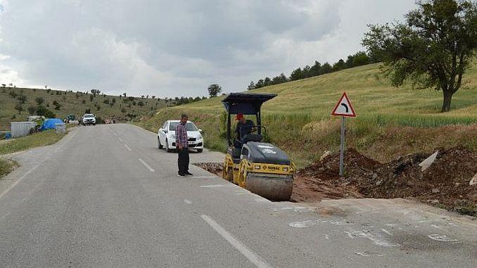 Korkutelide está renovando caminos.