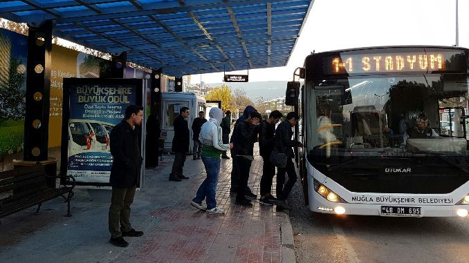 mugla buyuksehir million thousand passengers