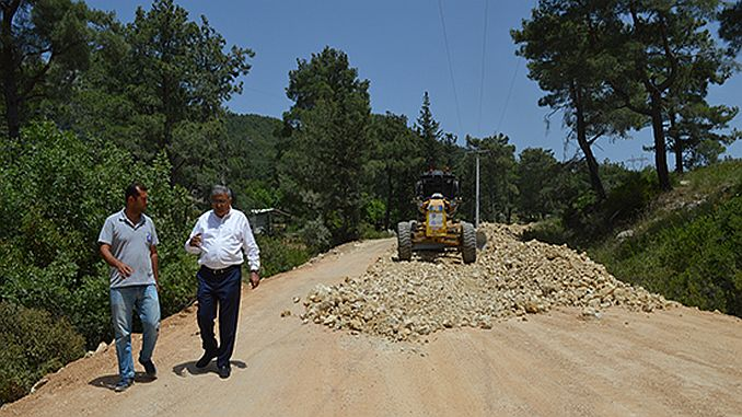 serikte road works in progress