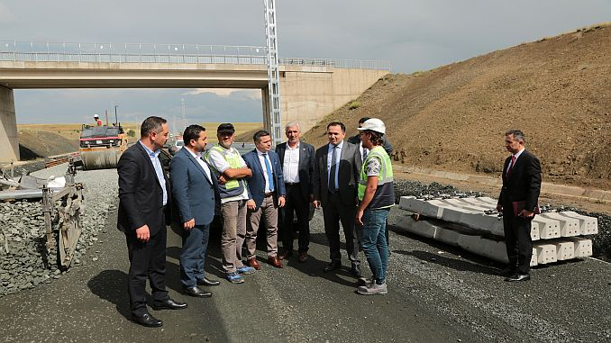 yozgat governor cakir yht line studies examined