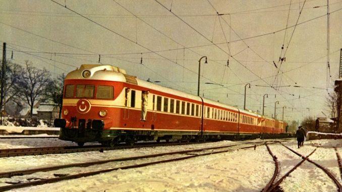 Tren motorizado de Alemania.