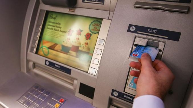 adana transportation network is seen working in the banker ATMs determined azerbaycanda