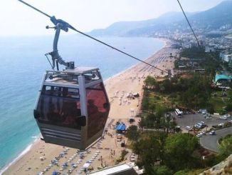 Alanya ropeway determina o encumen do prezo