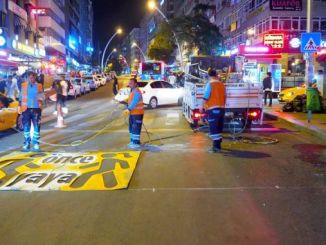 traffico pedonale di Ankara