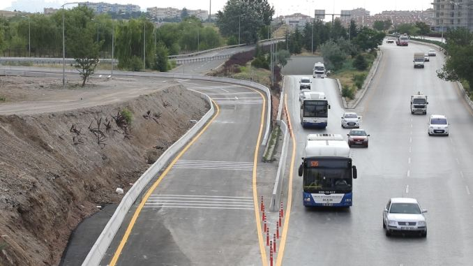 alternative solutions to traffic density in ankara