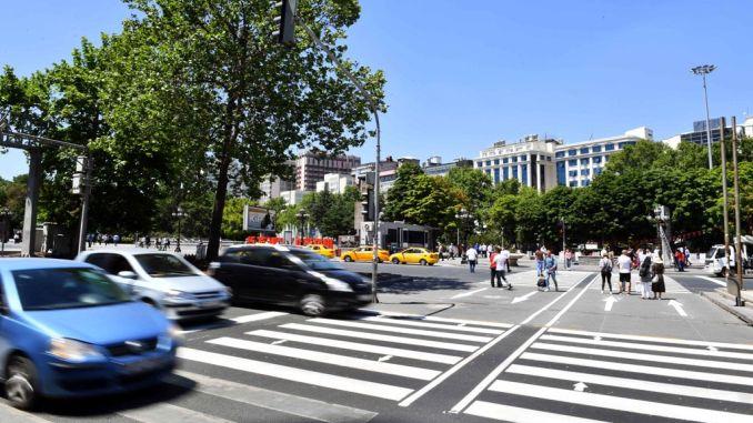 пешеходные переходы в Анкаре