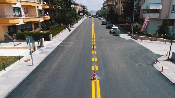 Ankara Metropolitan Road-Asphalt, Pedestrian Crossing and School Playground Lines