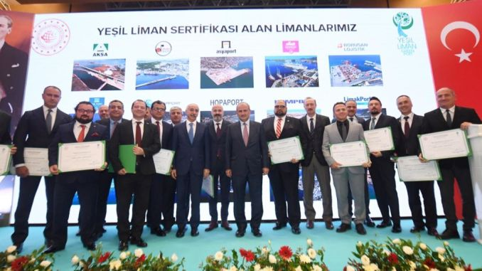 Turhan Yesil Liman attended the certificate ceremony
