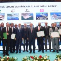 Minister Turhan participated in the Green Port Certificate Ceremony