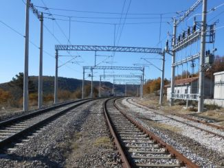 balikesir kutahya railway line was the first electric train