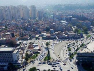 bursa kent meydaninda trafige rayli sistem ayari
