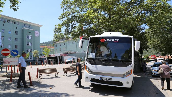 free service to bursa city hospital