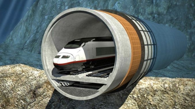 Chinese companies will build submarine railway tunnel in Tallinn, Helsinki