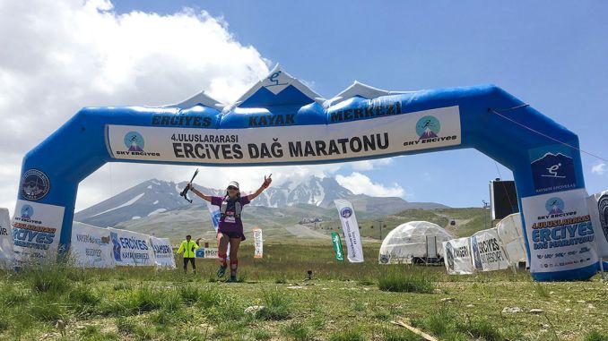 erciyes ultra maratón de montaña terminó