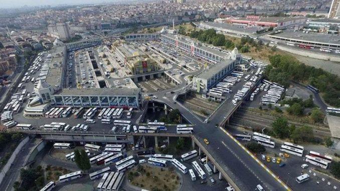 esenler bus station parking lot in spain