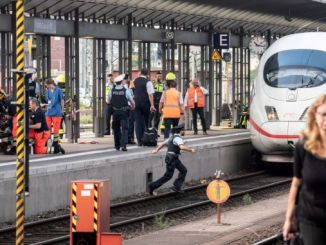 फ्रैंकफर्ट ट्रेन स्टेशन पर डरावना घटना!