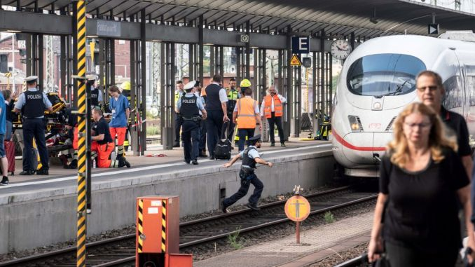 Scary Event at Frankfurt Train Station!