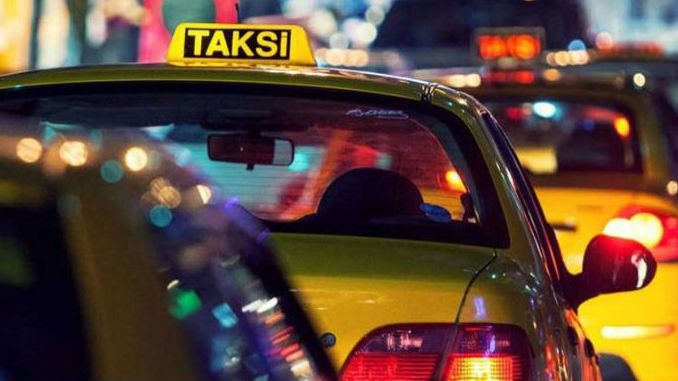 ibb taxi driver closely monitors passenger problems