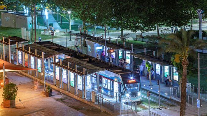 измир трамвай и метро