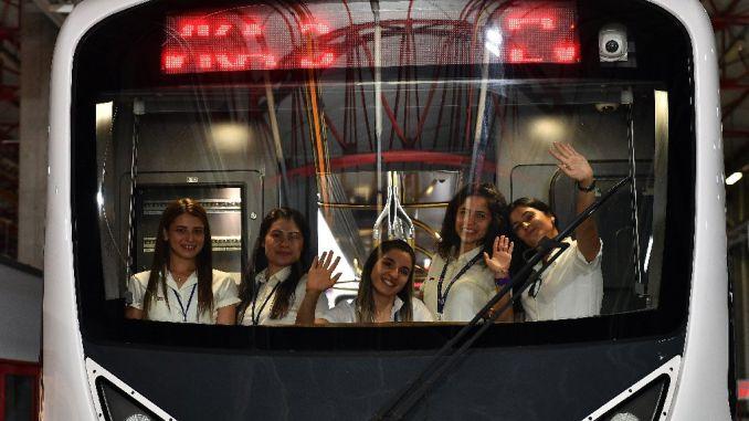izmirin women's metro and tram drivers qualification certificate