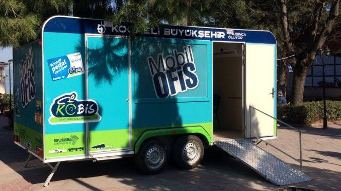 kobis und mobile office am strand von karavani cebeci