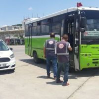 Visually Impaired Citizen Beaten Bus Driver In Kocaeli